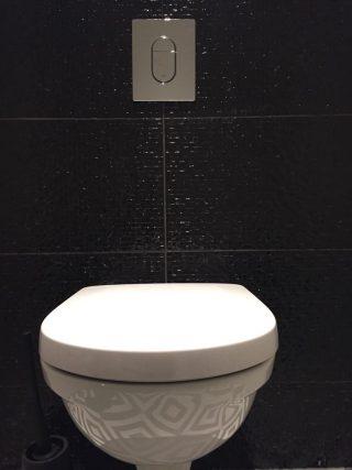 wandtegel 33x65 shine zwart voor keuken, badkamer, en toilet