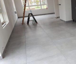 Vloertegel 90x90 cm Fairy Grey H97