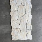 Brick tegel 33x65 cm H90