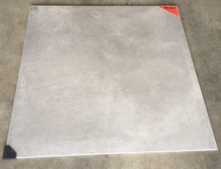 vloertegel 80x80cm betonlook grijs S14