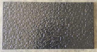Wandtegel 33x65 cm shine black
