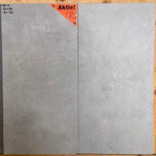 Betonlook tegels 30x60 cm grijs als badkamertegels