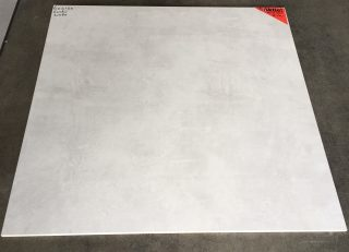 vloertegel 80x80cm Betonlook Light Grey CR 3