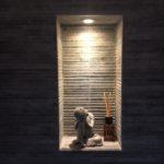 Wandtegel 33x65 cm w grey